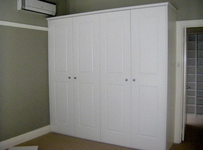 Painted MDF hinged doors