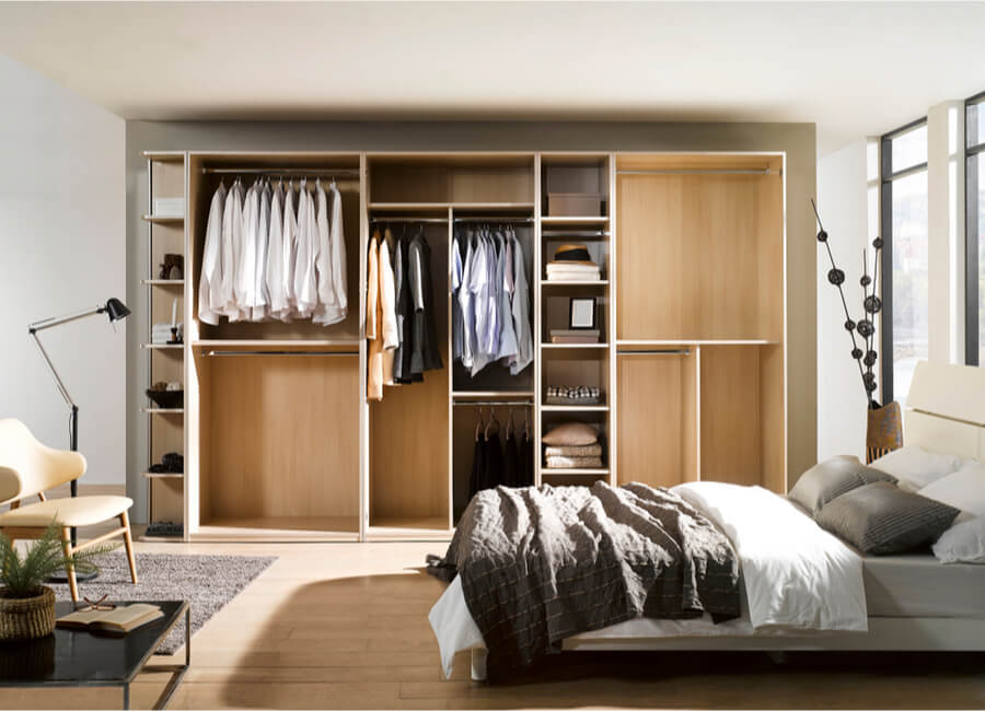 modern built in wardrobe