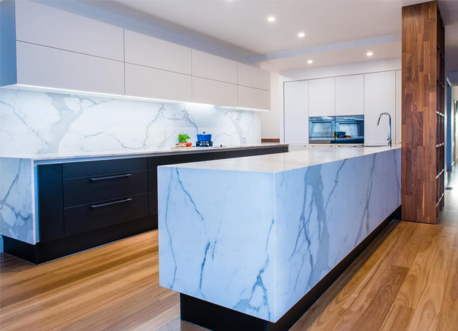 stone and marble benchtop