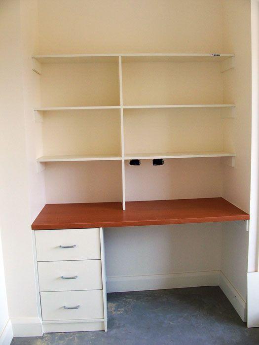 Built in childrens desk