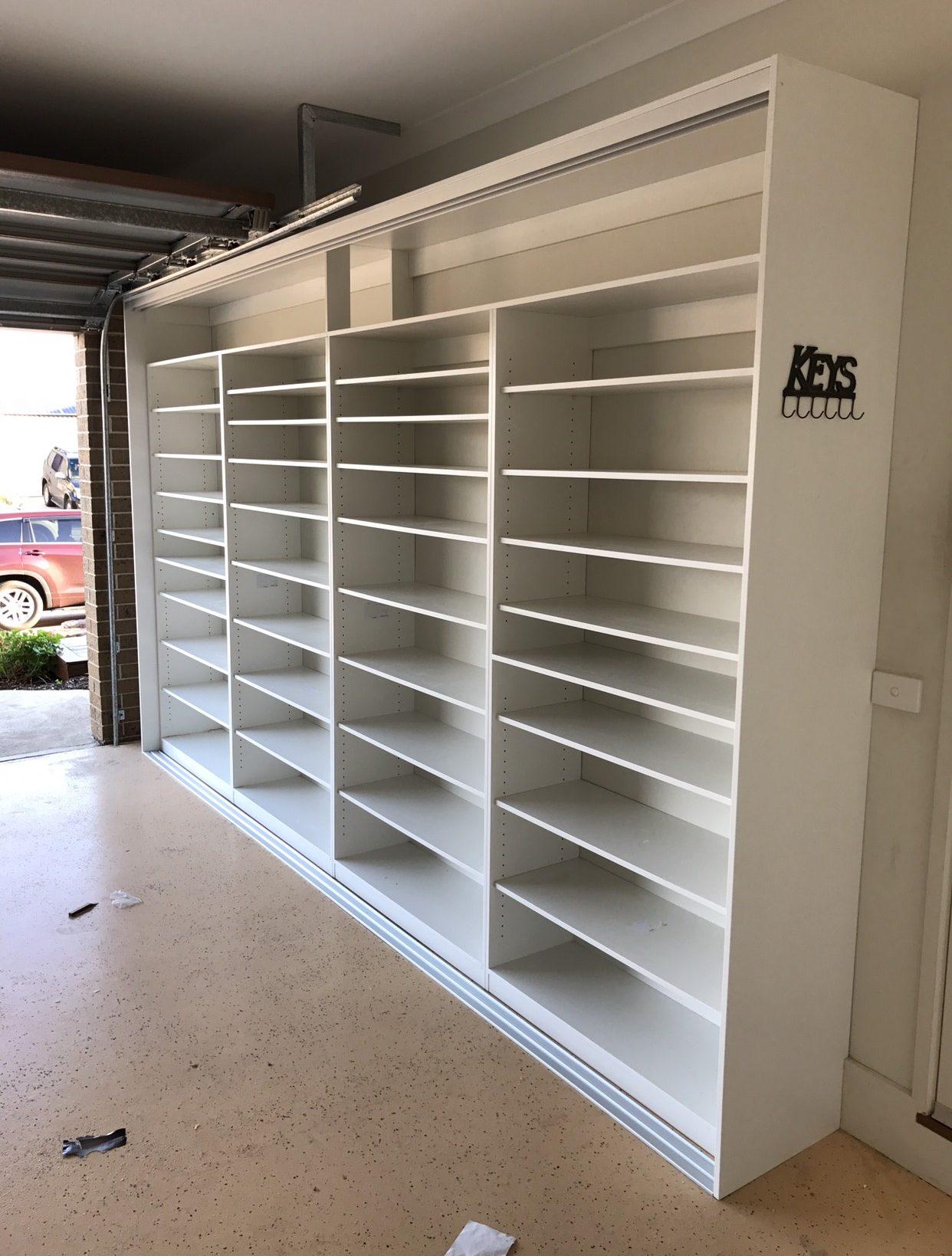 Garage storage, custom wardrobes in Melbourne_