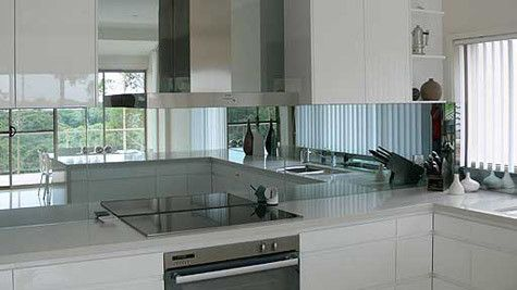 Mirrored Splash back
