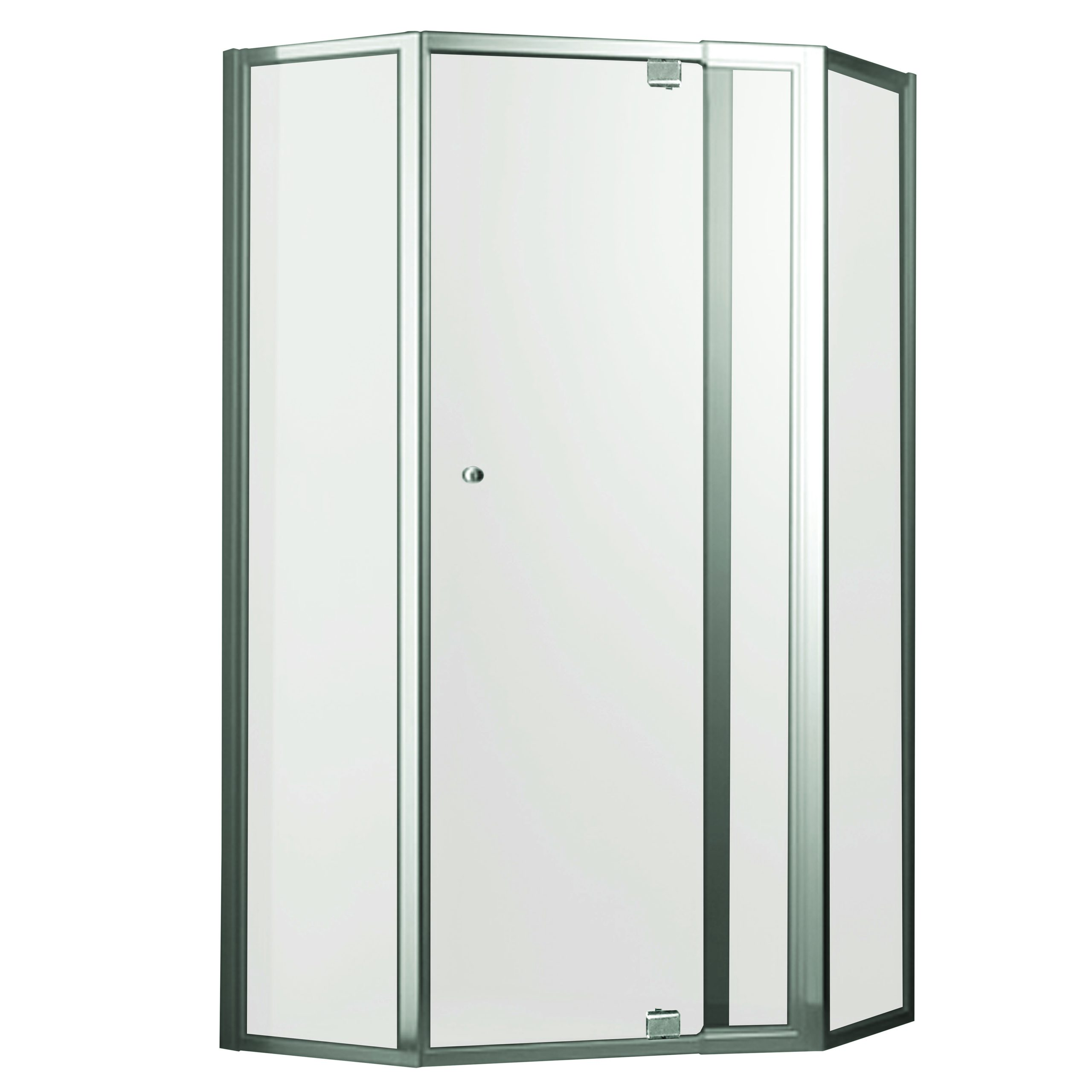 Smart Pivot Front 2 Returns Showerscreen