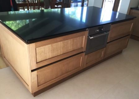 kitchen island benchtop with drawers