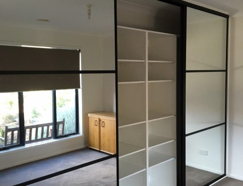Sliding Doors Make a Stylish Wardrobe