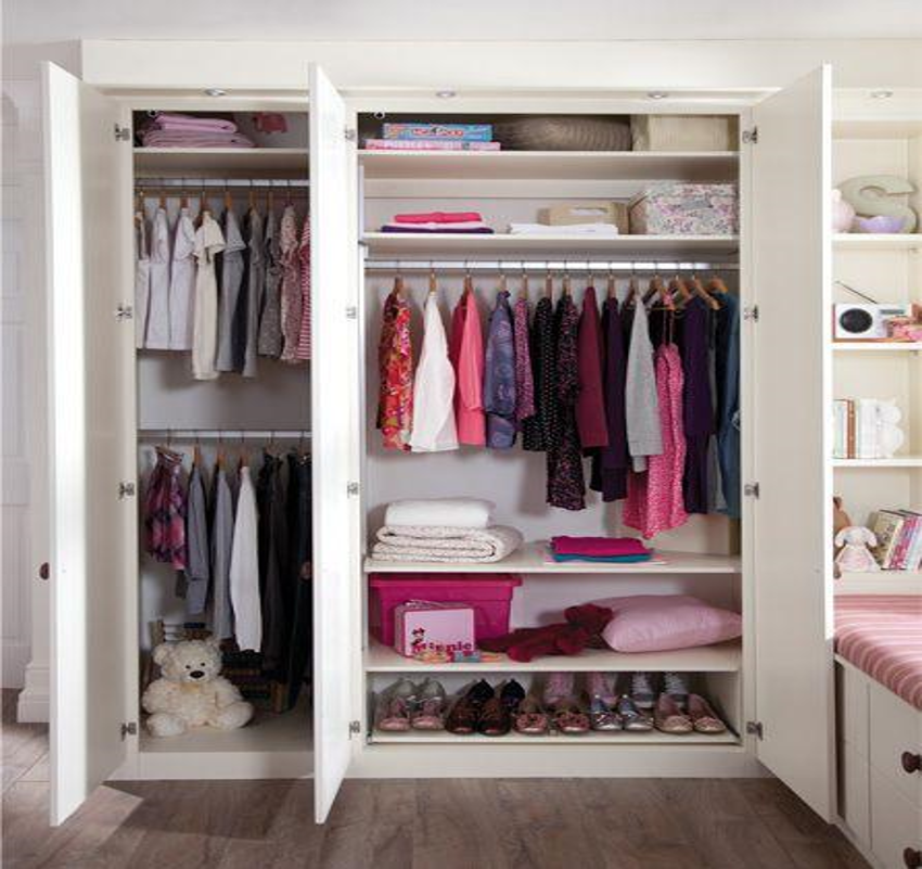wardrobe ideas for kids bedrooms